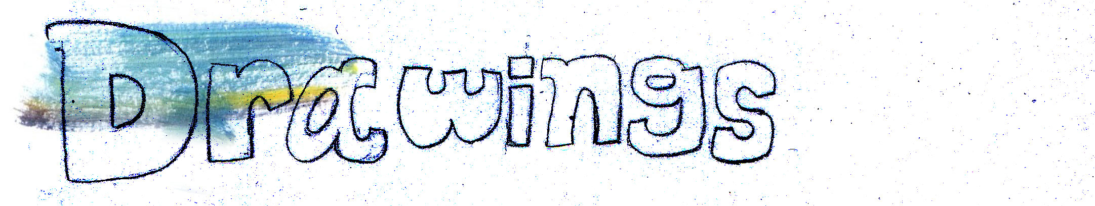 Drawings banner art monk website